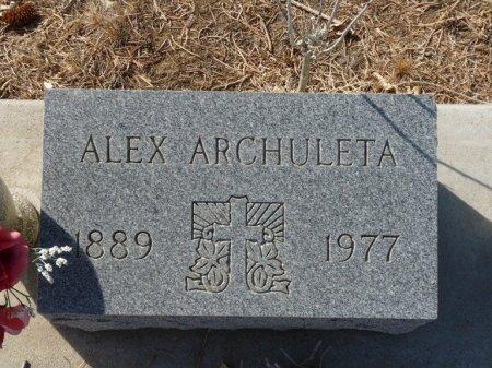 ARCHULETA, ALEX - Colfax County, New Mexico   ALEX ARCHULETA - New Mexico Gravestone Photos