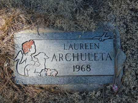 ARCHULETA, LAUREEN - Colfax County, New Mexico   LAUREEN ARCHULETA - New Mexico Gravestone Photos