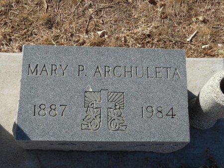 ARCHULETA, MARY P - Colfax County, New Mexico | MARY P ARCHULETA - New Mexico Gravestone Photos