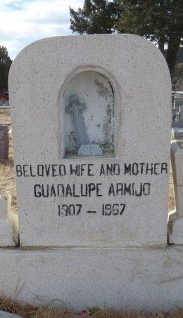ARMIJO, GUADALUPE - Colfax County, New Mexico | GUADALUPE ARMIJO - New Mexico Gravestone Photos