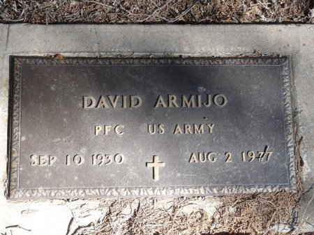 ARMIJO (VETERAN), DAVID - Colfax County, New Mexico | DAVID ARMIJO (VETERAN) - New Mexico Gravestone Photos