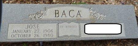BACA, JOSE - Colfax County, New Mexico | JOSE BACA - New Mexico Gravestone Photos