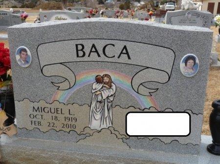 BACA, MIGUEL L - Colfax County, New Mexico | MIGUEL L BACA - New Mexico Gravestone Photos