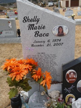 BACA, SHELLY MARIE - Colfax County, New Mexico | SHELLY MARIE BACA - New Mexico Gravestone Photos