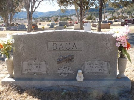 BACA, BARBARA JEAN - Colfax County, New Mexico | BARBARA JEAN BACA - New Mexico Gravestone Photos