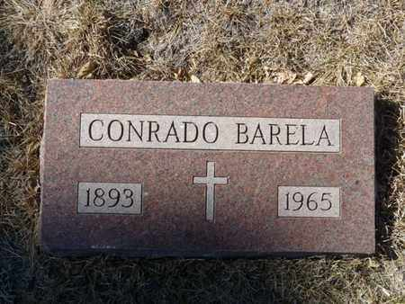 BARELA, CONRADO - Colfax County, New Mexico | CONRADO BARELA - New Mexico Gravestone Photos