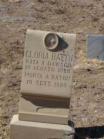 BATTU, GLORIA - Colfax County, New Mexico | GLORIA BATTU - New Mexico Gravestone Photos