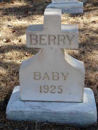 BERRY, BABY - Colfax County, New Mexico | BABY BERRY - New Mexico Gravestone Photos
