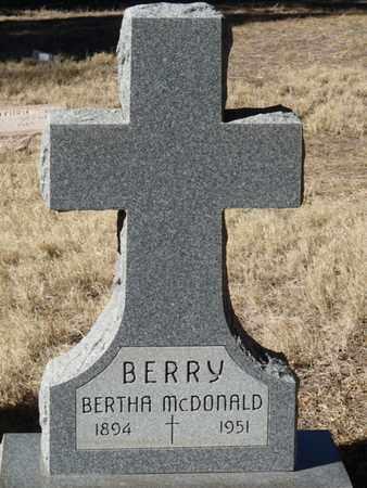 BERRY, BERTHA - Colfax County, New Mexico | BERTHA BERRY - New Mexico Gravestone Photos