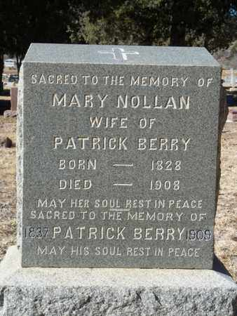 BERRY, PATRICK - Colfax County, New Mexico | PATRICK BERRY - New Mexico Gravestone Photos