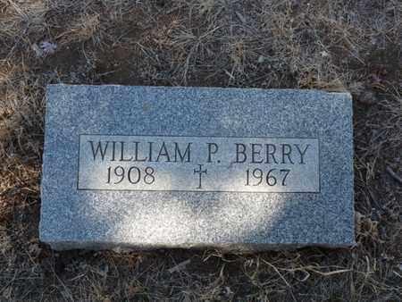 BERRY, WILLIAM P. - Colfax County, New Mexico   WILLIAM P. BERRY - New Mexico Gravestone Photos