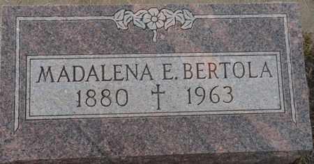 BERTOLA, MADALENA E - Colfax County, New Mexico | MADALENA E BERTOLA - New Mexico Gravestone Photos