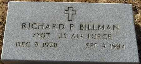 BILLMAN (VETERAN), RICHARD P - Colfax County, New Mexico | RICHARD P BILLMAN (VETERAN) - New Mexico Gravestone Photos