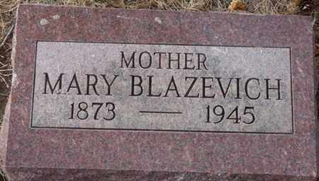 BLAZEVICH, MARY - Colfax County, New Mexico | MARY BLAZEVICH - New Mexico Gravestone Photos
