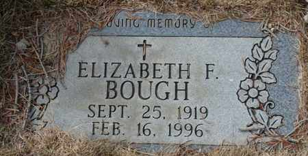 BOUGH, ELIZABETH F - Colfax County, New Mexico | ELIZABETH F BOUGH - New Mexico Gravestone Photos