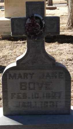 BOVE, MARY JANE - Colfax County, New Mexico | MARY JANE BOVE - New Mexico Gravestone Photos