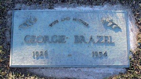 BRAZEL, GEORGIE - Colfax County, New Mexico   GEORGIE BRAZEL - New Mexico Gravestone Photos