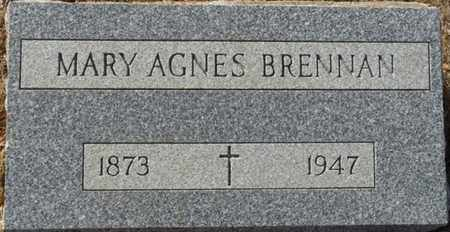 BRENNAN, MARY AGNES - Colfax County, New Mexico | MARY AGNES BRENNAN - New Mexico Gravestone Photos