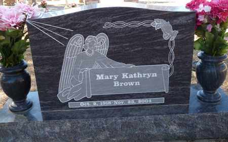 BROWN, MARY KATHRYN - Colfax County, New Mexico | MARY KATHRYN BROWN - New Mexico Gravestone Photos