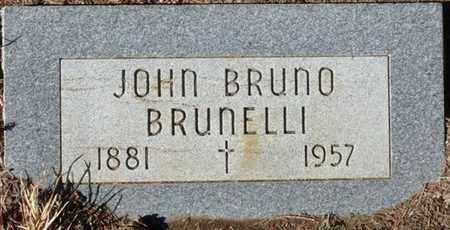 BRUNELLI, JOHN BRUNO - Colfax County, New Mexico | JOHN BRUNO BRUNELLI - New Mexico Gravestone Photos