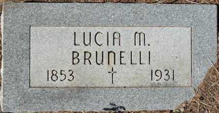 BRUNELLI, LUCIA M - Colfax County, New Mexico   LUCIA M BRUNELLI - New Mexico Gravestone Photos