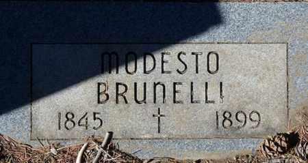 BRUNELLI, MODESTO - Colfax County, New Mexico | MODESTO BRUNELLI - New Mexico Gravestone Photos