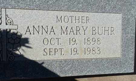BUHR, ANNA MARY - Colfax County, New Mexico | ANNA MARY BUHR - New Mexico Gravestone Photos