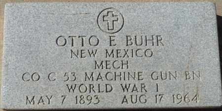 BUHR (VETERAN WWI), OTTO E - Colfax County, New Mexico | OTTO E BUHR (VETERAN WWI) - New Mexico Gravestone Photos