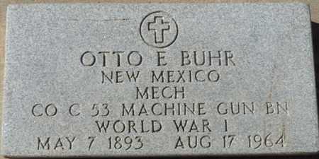 BUHR (VETERAN WWI), OTTO E - Colfax County, New Mexico | OTTO E BUHR (VETERAN WWI) - New Mexico Gravestone Photos
