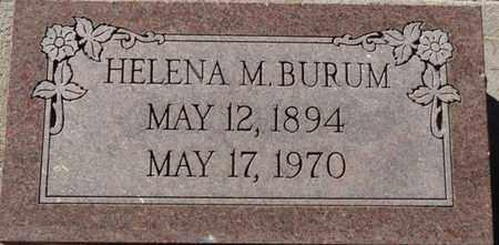 BURUM, HELENA M - Colfax County, New Mexico   HELENA M BURUM - New Mexico Gravestone Photos