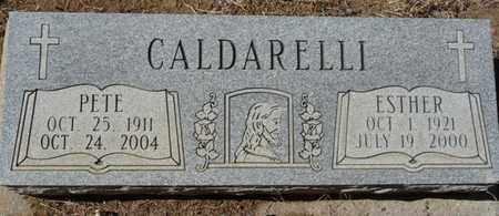 CALDARELLI, PETE - Colfax County, New Mexico | PETE CALDARELLI - New Mexico Gravestone Photos