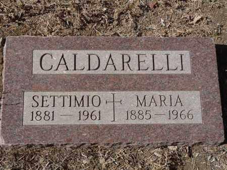 CALDARELLI, SETTIMIO - Colfax County, New Mexico   SETTIMIO CALDARELLI - New Mexico Gravestone Photos