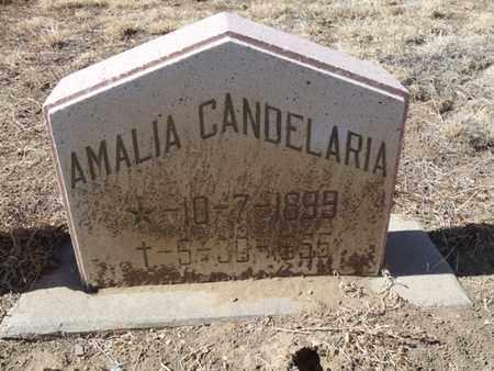 CANDELARIA, AMALIA - Colfax County, New Mexico | AMALIA CANDELARIA - New Mexico Gravestone Photos