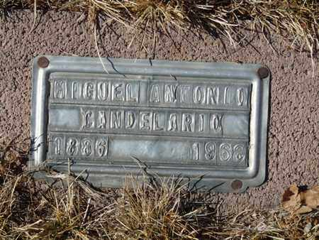 CANDELARIO, MIGUEL ANTONIO - Colfax County, New Mexico | MIGUEL ANTONIO CANDELARIO - New Mexico Gravestone Photos