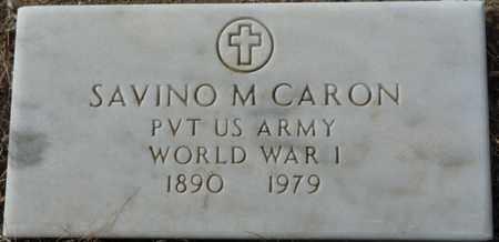 CARON (VETERAN WWI), SAVINO M - Colfax County, New Mexico   SAVINO M CARON (VETERAN WWI) - New Mexico Gravestone Photos