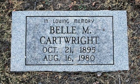 CARTWRIGHT, ISABELLE M. - Colfax County, New Mexico | ISABELLE M. CARTWRIGHT - New Mexico Gravestone Photos