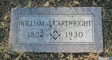 CARTWRIGHT, WILLIAM J. - Colfax County, New Mexico | WILLIAM J. CARTWRIGHT - New Mexico Gravestone Photos
