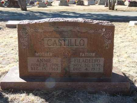 CASTILLO, FILADELFO - Colfax County, New Mexico | FILADELFO CASTILLO - New Mexico Gravestone Photos