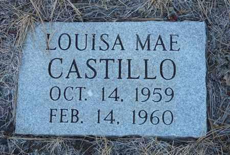 CASTILLO, LOUISA MAE - Colfax County, New Mexico | LOUISA MAE CASTILLO - New Mexico Gravestone Photos