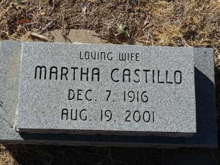 CASTILLO, MARTHA - Colfax County, New Mexico | MARTHA CASTILLO - New Mexico Gravestone Photos