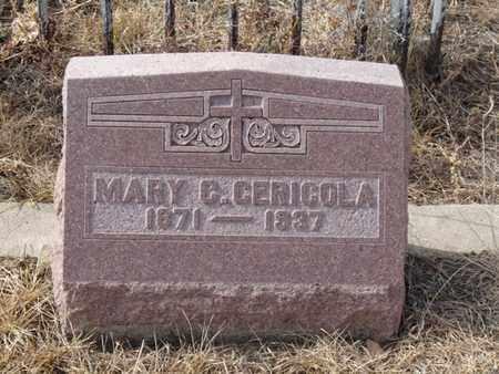 CERICOLA, MARY C - Colfax County, New Mexico | MARY C CERICOLA - New Mexico Gravestone Photos
