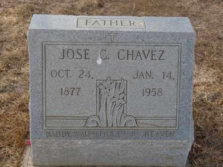 CHAVEZ, JOSE C - Colfax County, New Mexico | JOSE C CHAVEZ - New Mexico Gravestone Photos