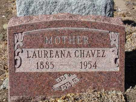 CHAVEZ, LAUREANA - Colfax County, New Mexico | LAUREANA CHAVEZ - New Mexico Gravestone Photos