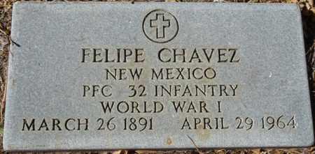 CHAVEZ (VETERAN WWI), FELIPE - Colfax County, New Mexico | FELIPE CHAVEZ (VETERAN WWI) - New Mexico Gravestone Photos