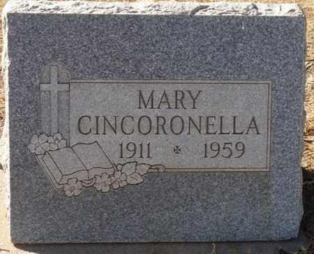 CINCORONELLA, MARY - Colfax County, New Mexico   MARY CINCORONELLA - New Mexico Gravestone Photos