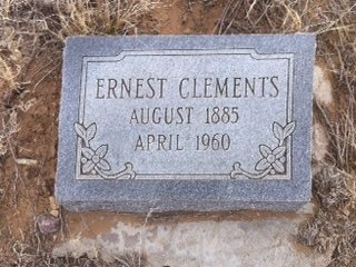 CLEMENTS, ERNEST - Colfax County, New Mexico | ERNEST CLEMENTS - New Mexico Gravestone Photos