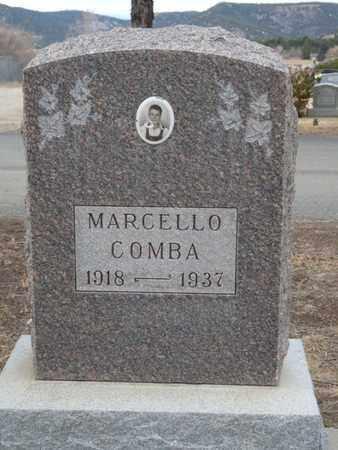 COMBA, MARCELLO - Colfax County, New Mexico   MARCELLO COMBA - New Mexico Gravestone Photos