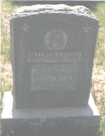 CORDOVA, MARSIAL - Colfax County, New Mexico | MARSIAL CORDOVA - New Mexico Gravestone Photos