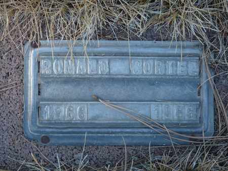 CORTEZ, RONALD - Colfax County, New Mexico   RONALD CORTEZ - New Mexico Gravestone Photos