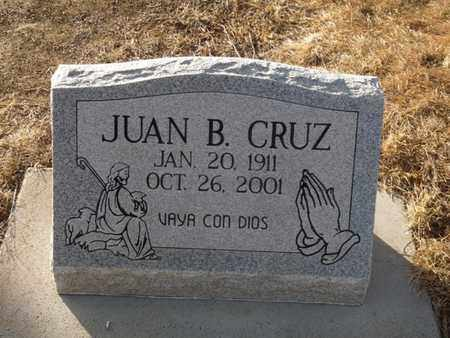 CRUZ, JUAN B - Colfax County, New Mexico   JUAN B CRUZ - New Mexico Gravestone Photos